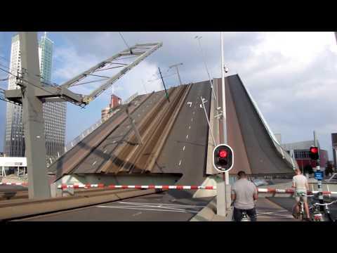 Rotterdam ♥ 2014 - Erasmus Bridge (Opening and Closing)