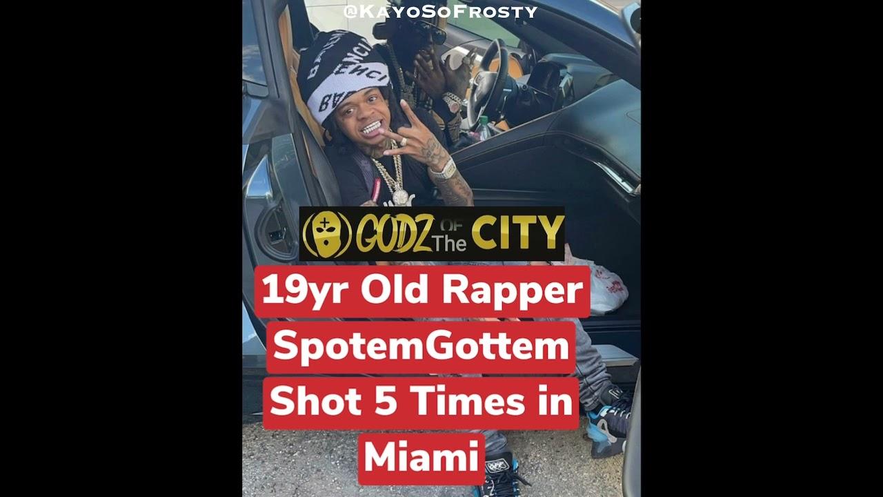 Rapper SpotemGottem shot in Florida road rage incident