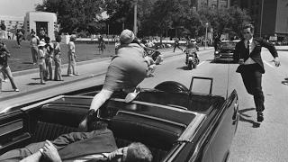 выстрел в призидента Кеннеди