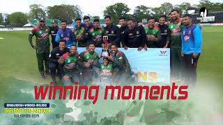 Winning Moments of Bangladesh Against Windies || Final Match || ODI Series || Tri-Series 2019