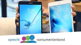 iPad mini 4 vs Samsung Galaxy Tab S2 (Consumentenbond)