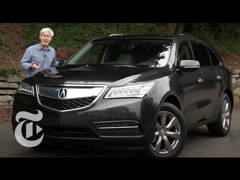 Review: 2014 Acura MDX - Driven | The New York Times