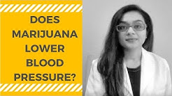 Marijuana (Cannabis) and Blood Pressure