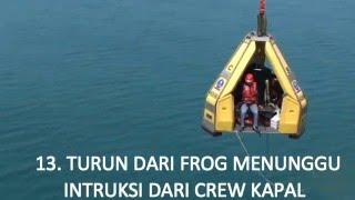 Crew Change Mike-Mike F/S Pertamina Hulu Energi ONWJ