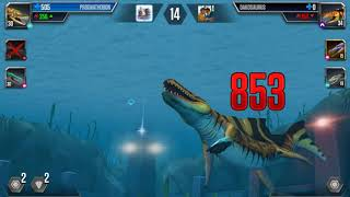 Leptocleidus vs Dakosaurus - Dinosaurs Battle #306