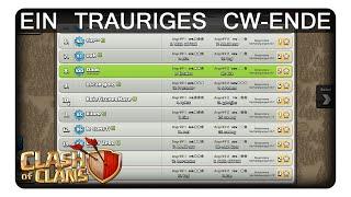 EIN TRAURIGES CW-ENDE || CLASH OF CLANS | Let's Play CoC | Deutsch | German
