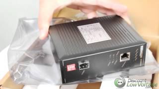 Signamax 065-1896SFPTB 10/100/1000 Industrial Media Converter