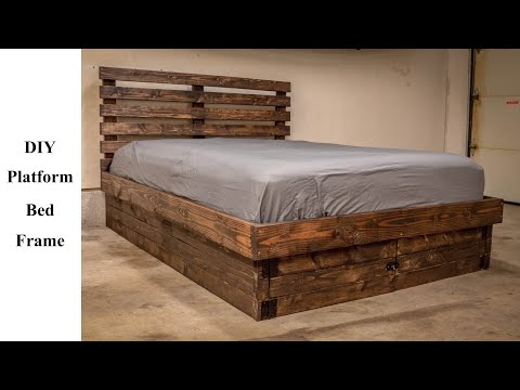 DIY Platform Bed Frame For $120! | Build It Better | EP. 06