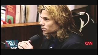 """Micro expression of disgust while Brian """"Kato"""" Kaelin testifies during the O. J. Simpson trial"""