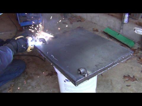 Wood Stove Boiler Tank - Part 3 - I'm In Hot Water!