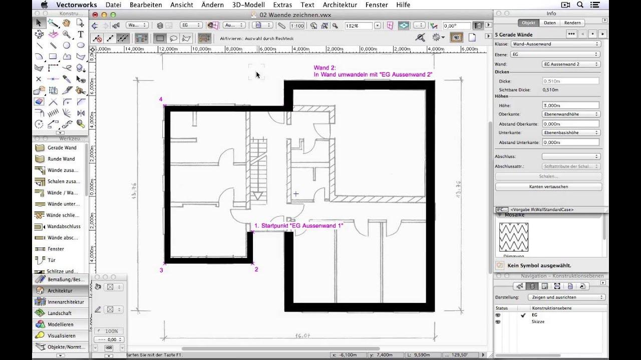 3d raum zeichnen finest grundriss zeichnen und berechnen. Black Bedroom Furniture Sets. Home Design Ideas