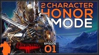 2 Character Honor Mode! | Divinity: Original Sin 2 - Let's Play E01 - [Honor Mode] [Guide]