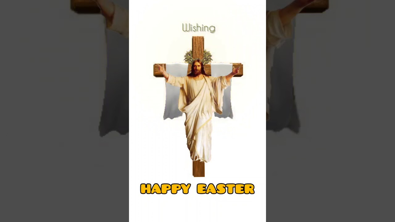 HAPPY EASTER TO ALL MY DEAR BROTHERS AND SISTERS