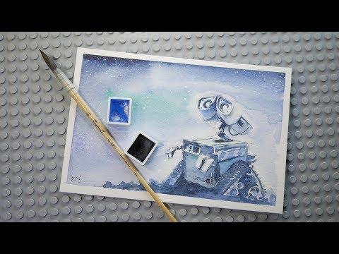 ▶LIVE:: 새벽 기습방송으로  WALL.E 그리기