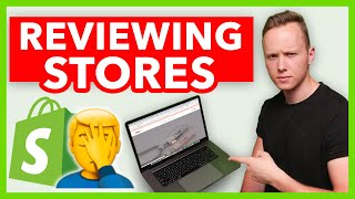 Dropshipping: Reviewing Subscribers Stores (SHOCKING Mistakes 🤦)