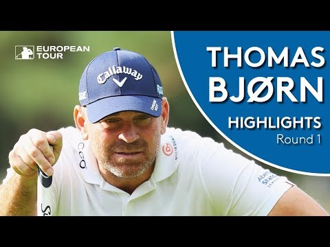 Thomas Bjørn Highlights | Round 1 | 2018 Made in Denmark