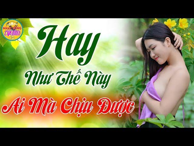 HÁT HAY NHƯ THẾ NÀY AI MÀ CHỊU ĐƯỢC - Điếc Cũng Phải Khen Hay - Lk Nhạc Sống Mới Đét Vạn Người Phê