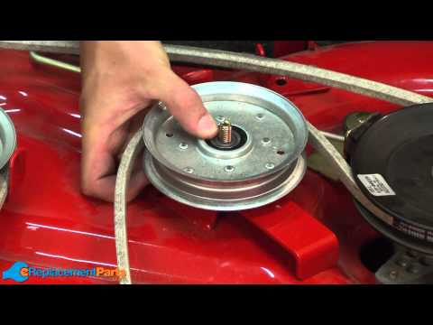 How to Replace the Deck Idler Pulley on a Troy-Bilt Pony Lawn Tractor (Part # 756-04129B)