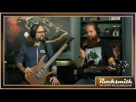 Rocksmith Remastered -- Alice in Chains II -- Live from Ubisoft Studio SF