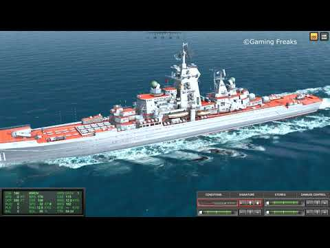 COLD WATERS: Kanin Class Destroyer and Kirov Class Battlecruiser Sunk
