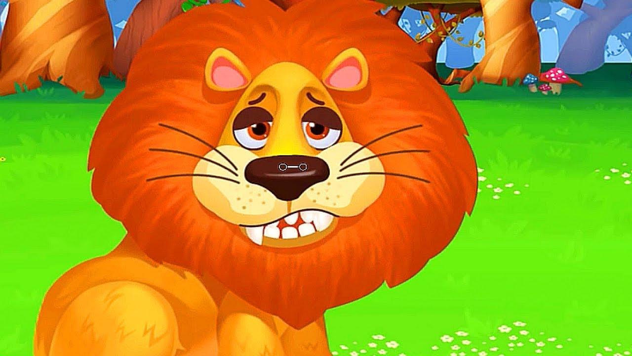 ЛЕЧИМ ПИТОМЦЕВ 2 серия Домашние Питомцы и дикие зверята мультфильм игра про зверей Доктор Зоопарк