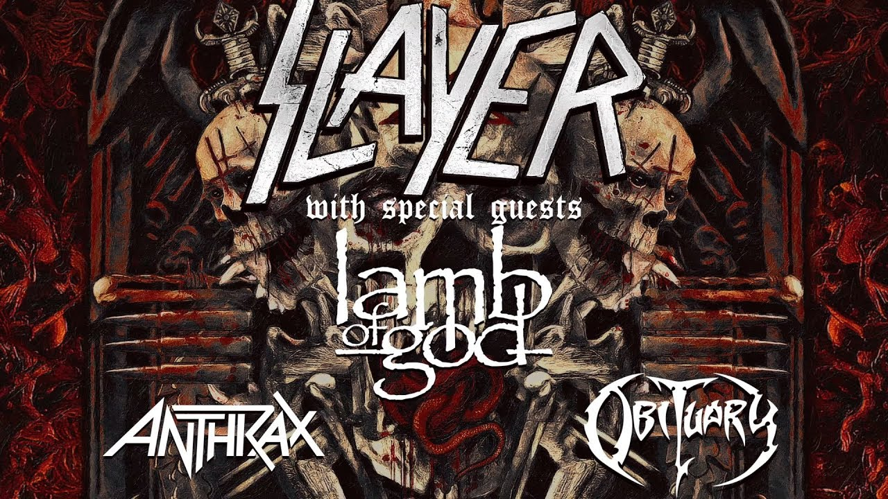Image result for slayer final world tour europe