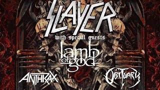 SLAYER - Final World Tour: Europe (OFFICIAL TOUR TRAILER)