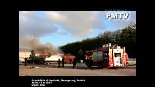 160515 Brand i Båd, Stenagervej, Østbirk
