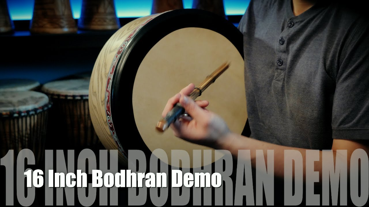 16 Inch Shaw Percussion Bodhran Demo