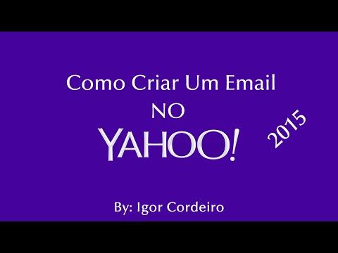 #T3 - CF / COMO CRIAR UMA CONTA DE EMAIL NO YAHOO [ 2015 - 2016 ]