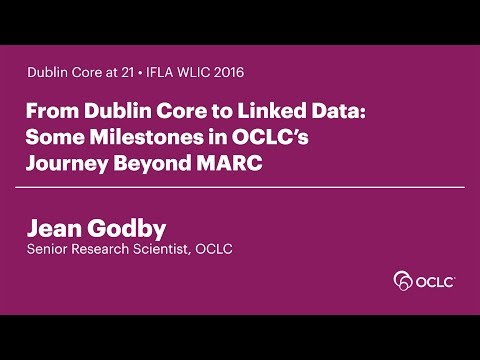 From Dublin Core to Linked Data