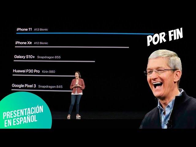 Apple PONE EN SU LUGAR a Huawei con iPhone 11 Pro | Presentación en español