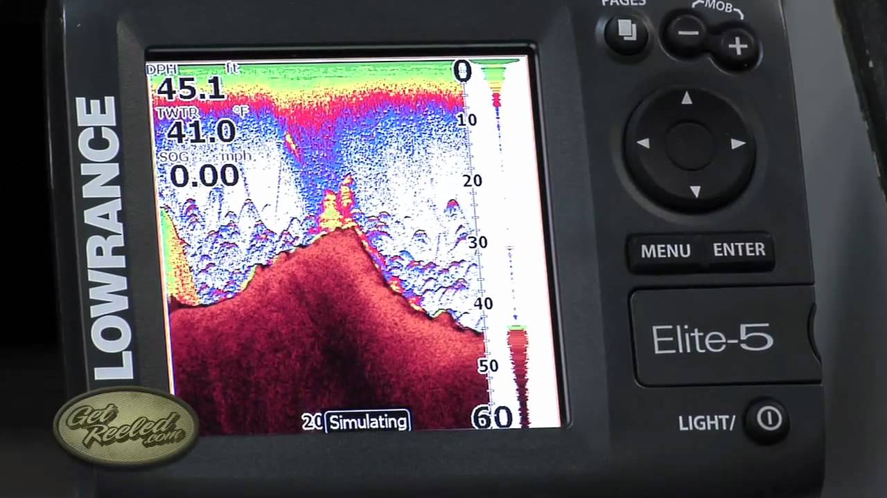 Dial in the sensitivity of your Sonar / Fish-Finder