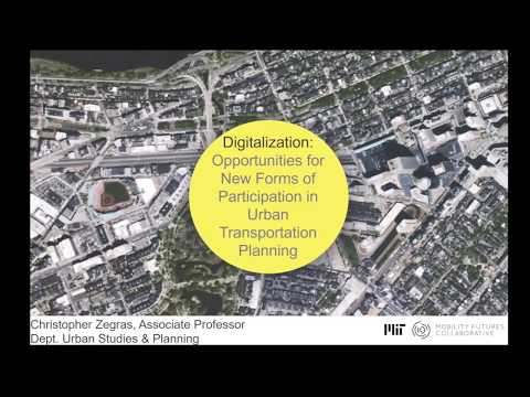 Digitalization: Opportunities for New Forms of Participation in Urban Transportation Planning