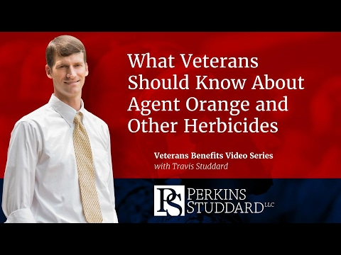 What Veterans Should Know About  Agent Orange and Other Herbicides