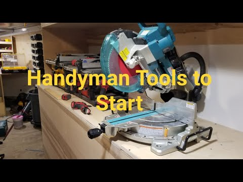 Handyman Tools To Start