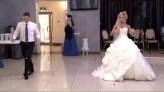 Невероятно красивый свадебный танец ПРИКОЛЬНЫЙ ПЕРВЫЙ СВАДЕБНЫЙ ТАНЕЦ С СЮРПРИЗОМ!!!!!