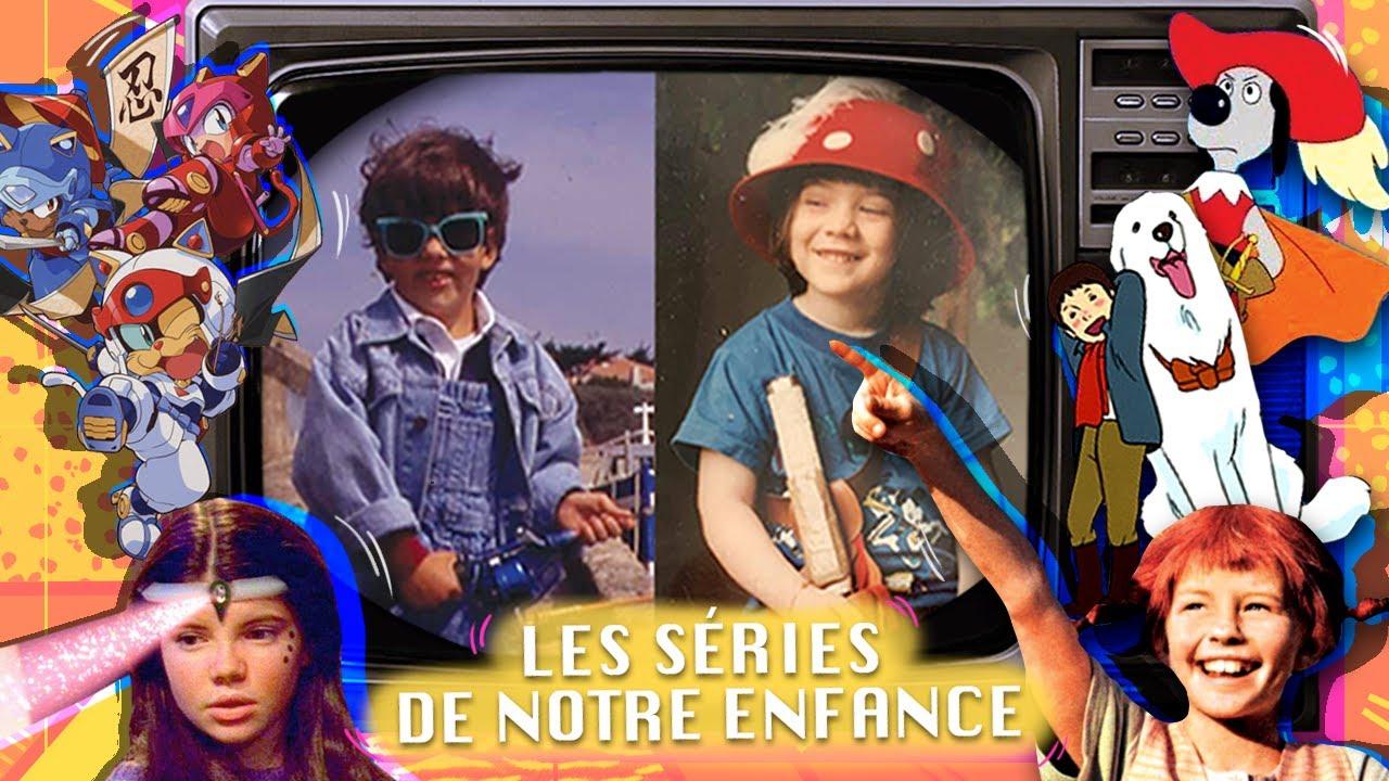 Huit séries de notre enfance