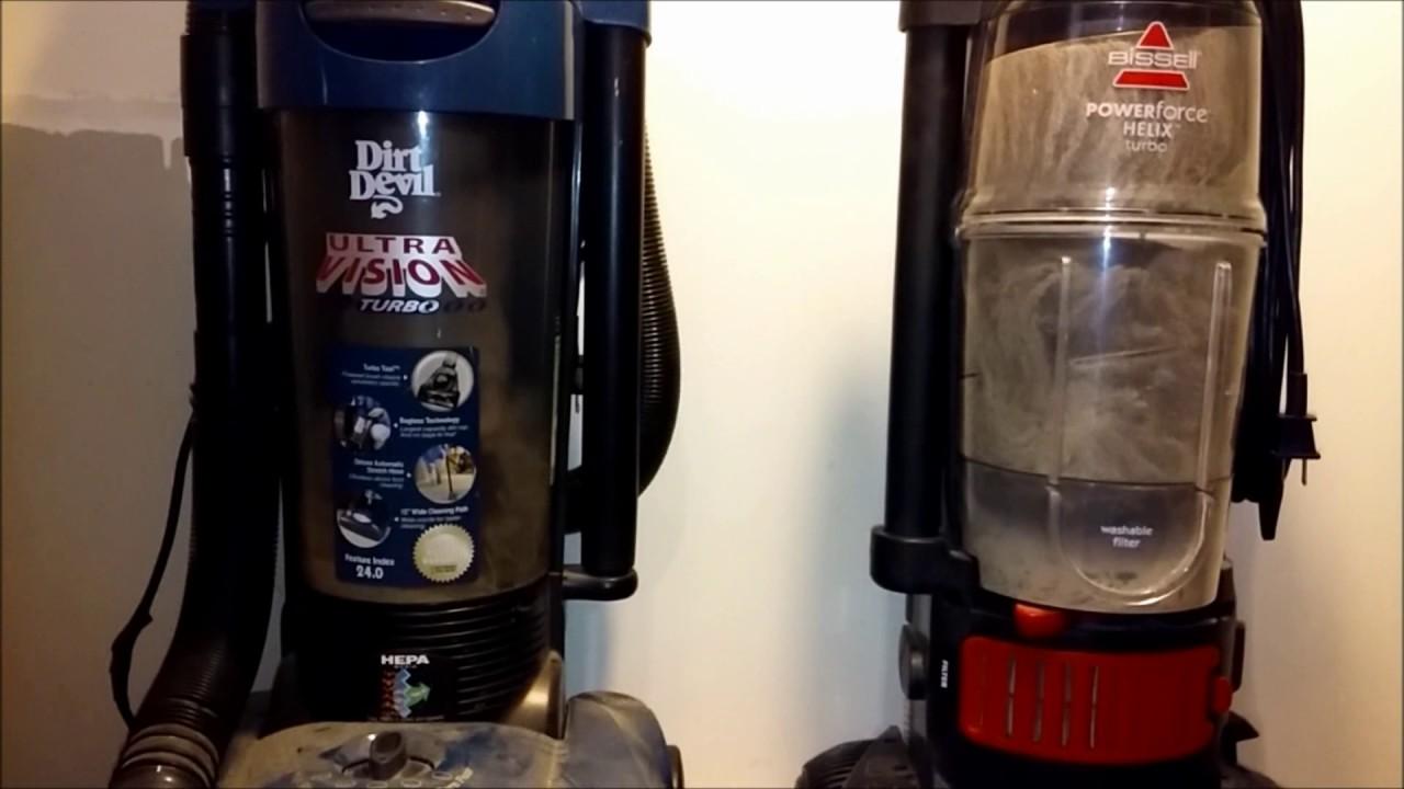 Dirt Devil Vacuum Vs Bissell Cleaner