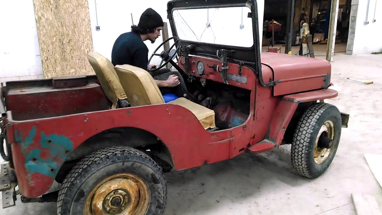 Copy of 1964 CJ3 Jeep FOR SALE on ebay 12-18-14 - YouTube