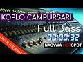 Dangdut Koplo Campursari Full Bass cocok untuk cek sound