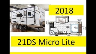 Great Layout! 21DS Micro Lite Flagstaff 2018 Forrest River