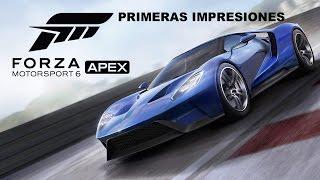 FORZA MOTORSPORT 6 APEX: Primeras impresiones