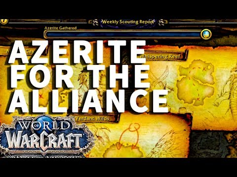 Azerite For the Alliance WoW Quest