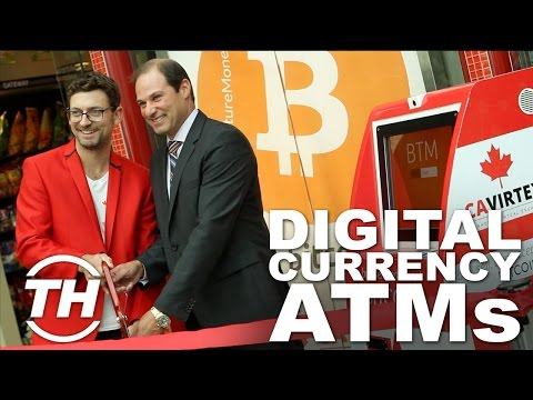 CAVIRTEX Bitcoin BTM |  Digital Currency ATMs
