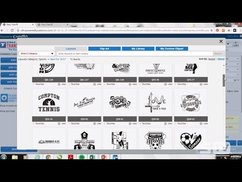 How to Create Artwork for School & Spirit Wear Using the Easy View® Designer