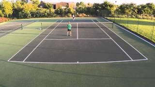 Ollie vs Catriona 2 Game Classic At Letcombe Tennis Arena 18.06.2015