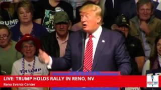 Woman Faints at Donald Trump Event in Reno (1-10-16)