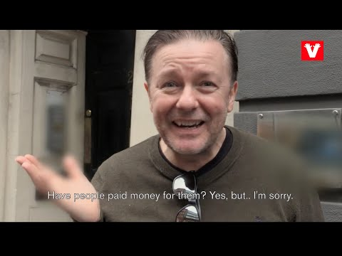 Let's get Ricky Gervais to Amsterdam!