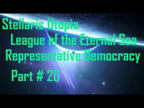 Stellaris Utopia/Synthetic Dawn: League of the Eternal Sea - Representative Democracy - Part 20